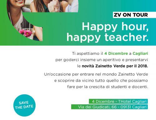 Zainetto Verde on Tour – Lunedì 4 Dicembre THotel a Cagliari