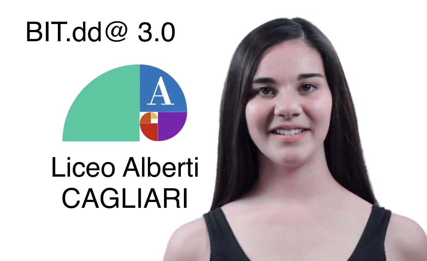 Online il video finale del Laboratorio BIT.dd@ 3.0 del Liceo Alberti di Cagliari !