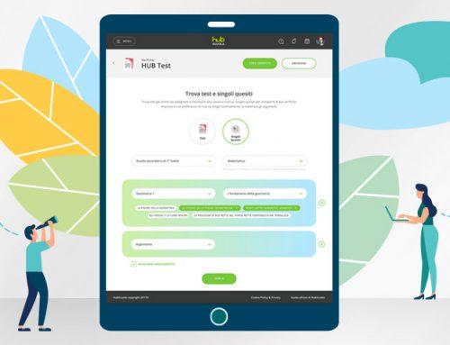 HUB TEST è il nuovo strumento per realizzare verifiche in maniera semplice e veloce !