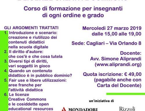 Seminario di Formazione con Simone Aliprandi